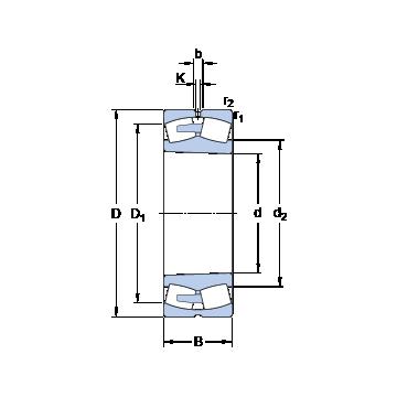 24192 ECAK30/W33 SKF Spherical Roller Bearings