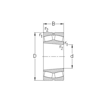 22238-K-MB-W33 NKE Spherical Roller Bearings