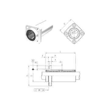 LMKP30LUU Samick Linear Bearings