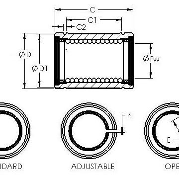 LBE 16 AJ AST Linear Bearings