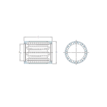 LBBR 20 SKF Linear Bearings