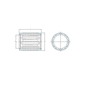 LBBR 8-2LS/HV6 SKF Linear Bearings