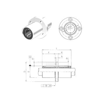 LMFM13UU Samick Linear Bearings