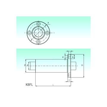 KBFL 12-PP NBS Linear Bearings