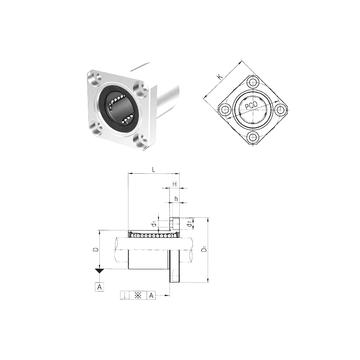 LMK35UU Samick Linear Bearings
