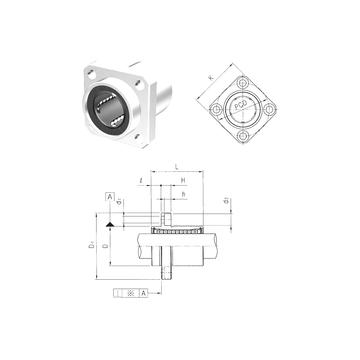 LMEKP8UU Samick Linear Bearings