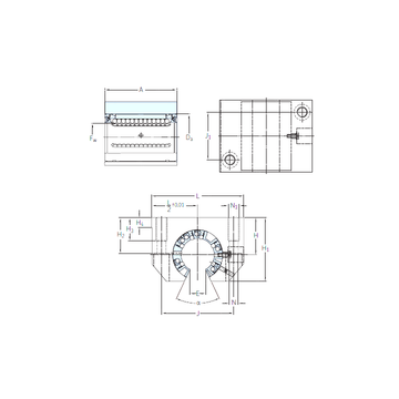 LUNF 16-2LS SKF Linear Bearings