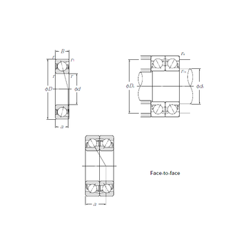 7906CDF CYSD Angular Contact Ball Bearings