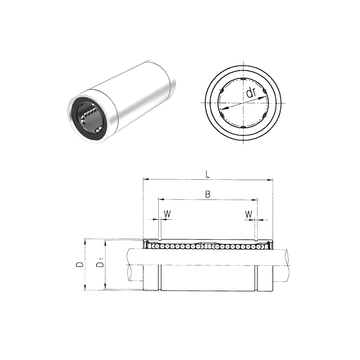 LME16L Samick Linear Bearings